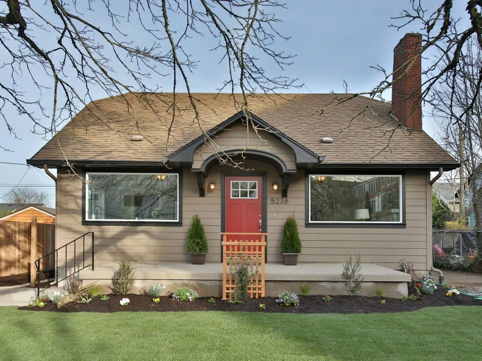 After: Curb appeal can add thousands to the value of your listed home
