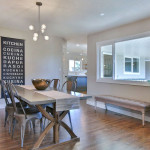 imagine home staging. staged dining room