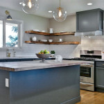 West Linn staged kitchen