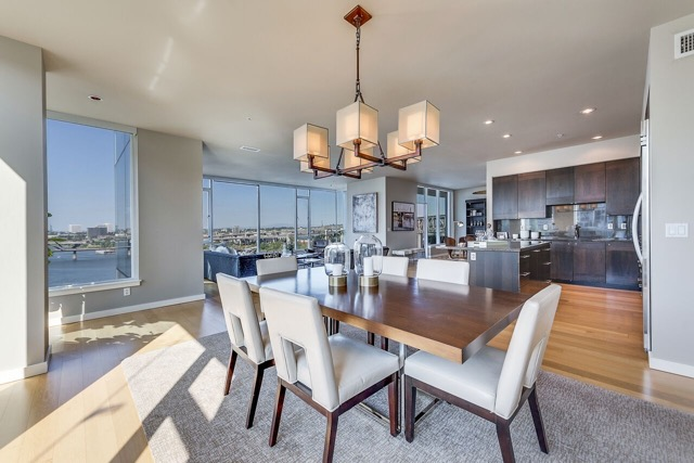 Luxury condo with expansive views