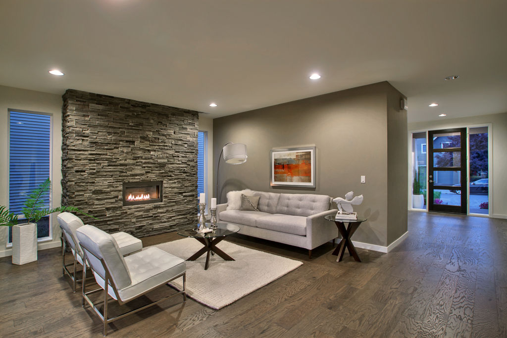 staged living rooms. Portland Oregon staged living room  Jersey Imagine Stagers