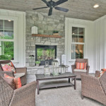 Staged Home Patio