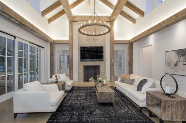 The Modern Farhouse Resort Living Room