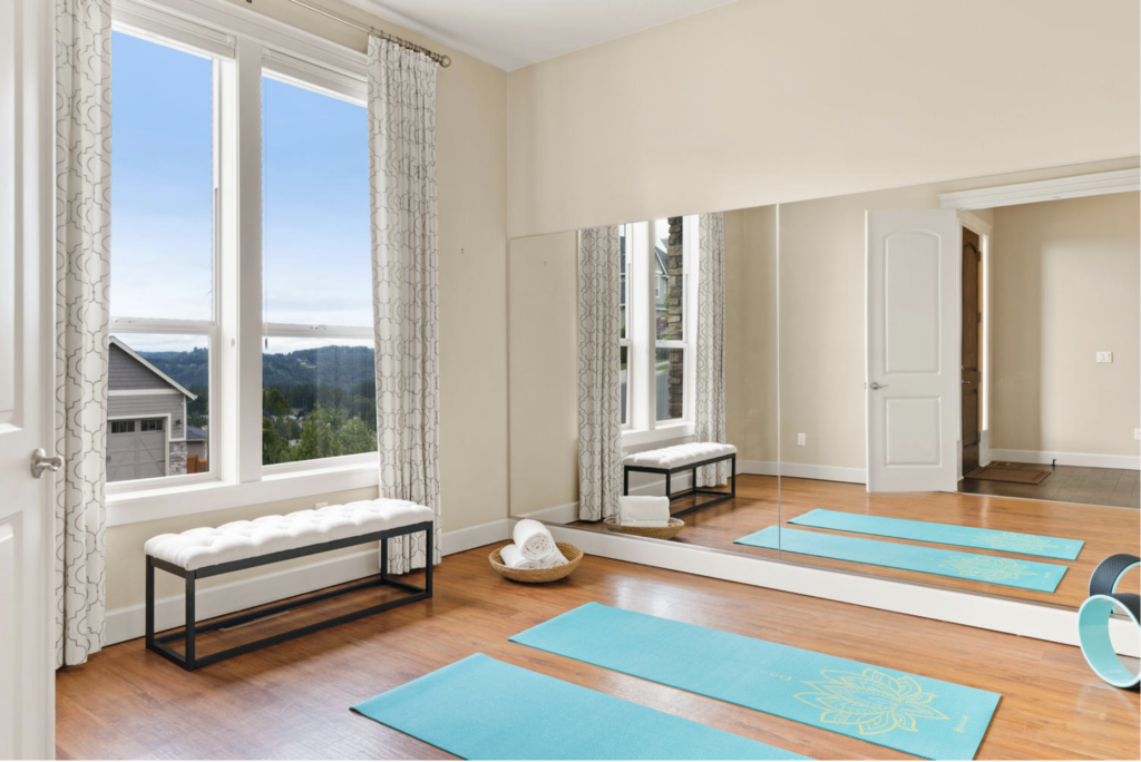 2020 home buyers wanted dedicated fitness space