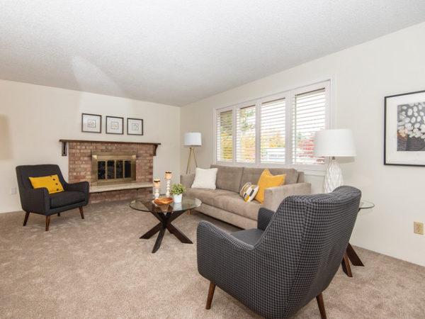 After staging this listing was warmer, fresher, and sold within a week