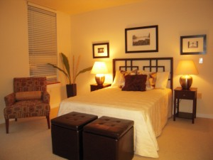 Example of a Staged Bedroom
