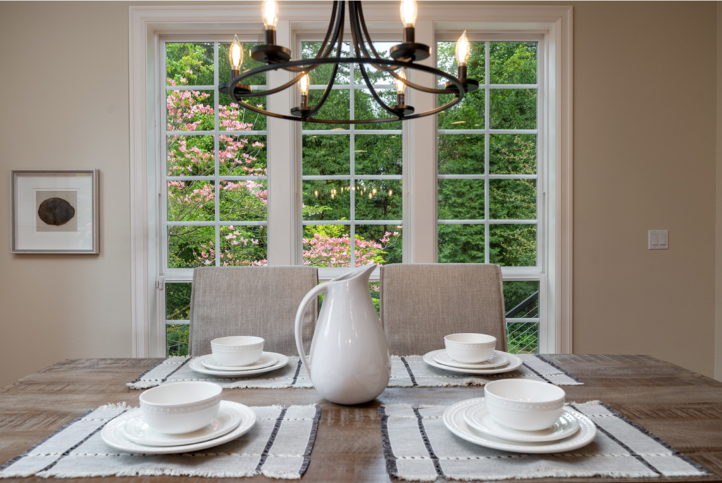 Family Dining areas was important to home buyers in 2020