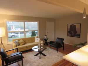 SE Portland staged living room