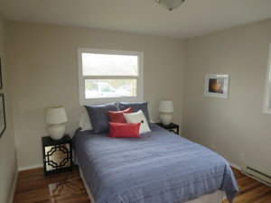 SE Portland staged bedroom-imagine stagers