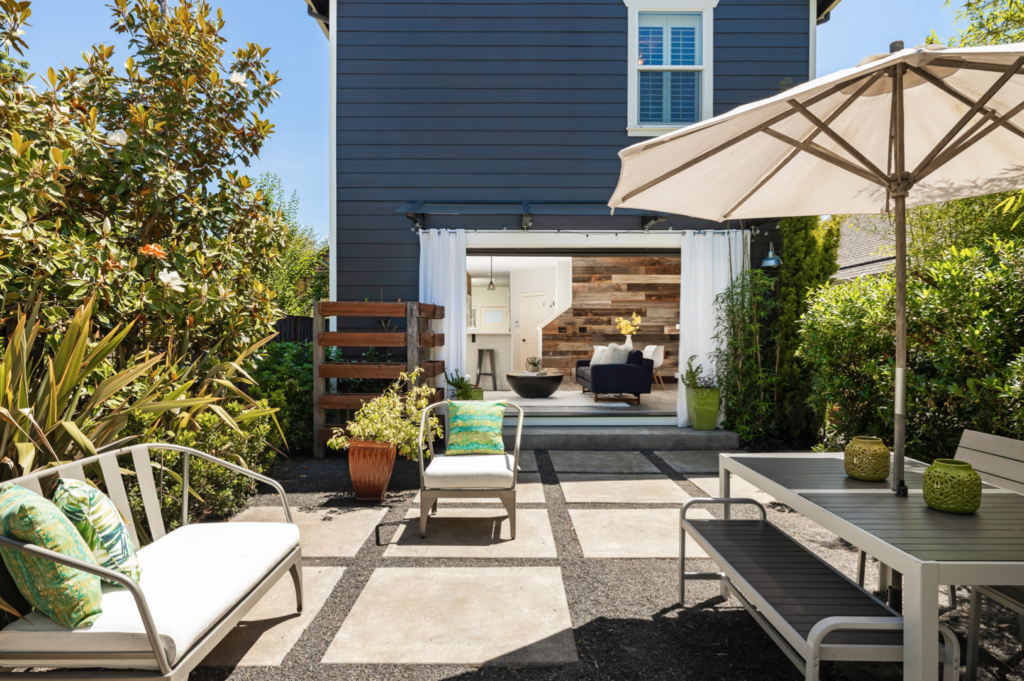 Outdoor living spaces were popular for buyers in 2020