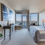 Portland Luxury Condo bedroom views