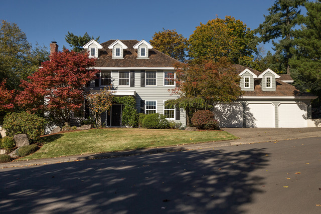 Portland's Forest Heights exterior home staging