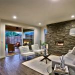 Portland Oregon staged living room