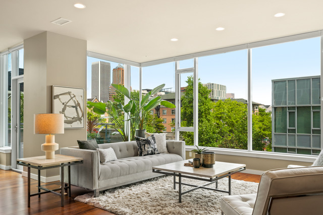 Staging the Strand Condo on Portland's Waterfront