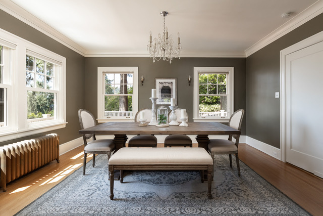 West Hills 1920's Colonial highlights vintage features with modern accents