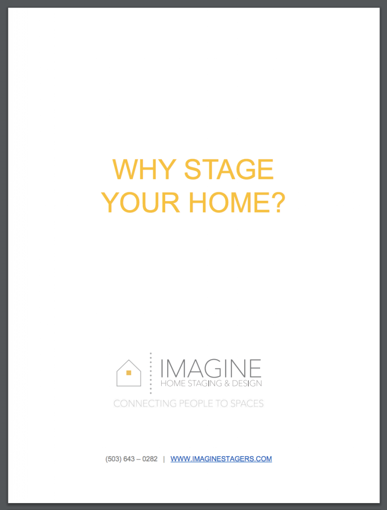 Why Stage Your Home - Tool