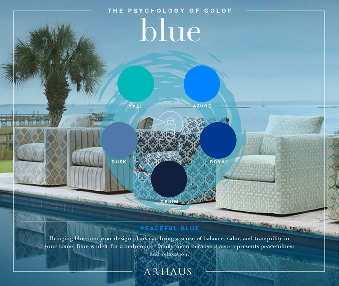 choosing color for your home according to Arhaus_blue