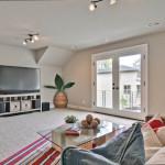 Staged home bonus room