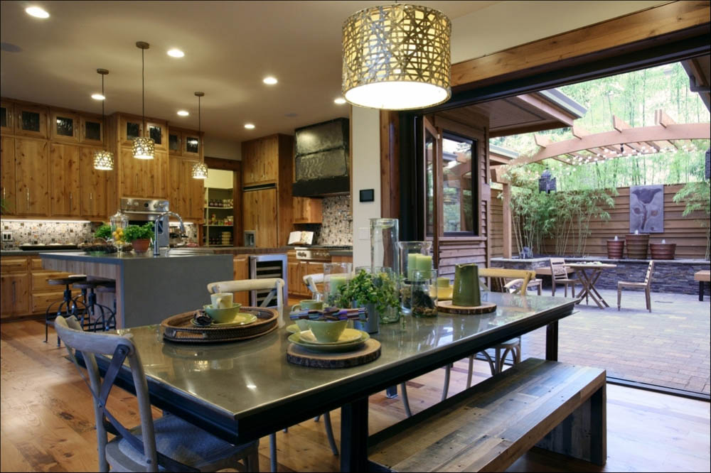 The kitchen is the second most important room to stage, according to home staging statistics