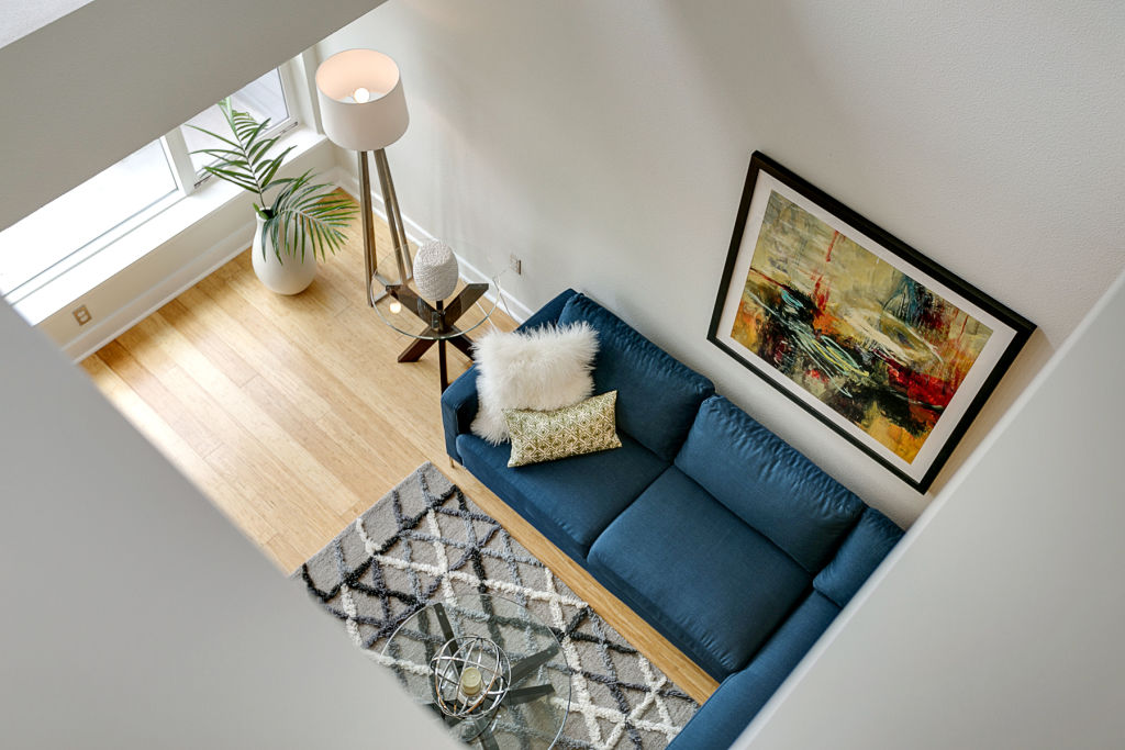 According to home staging statistics, the living room is the most important room to stage.
